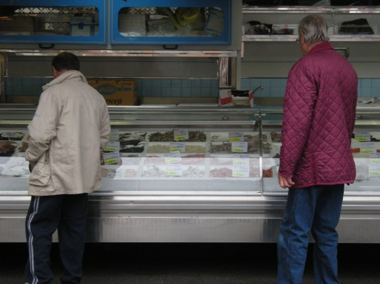 Fishmonger in Acqui Terme
