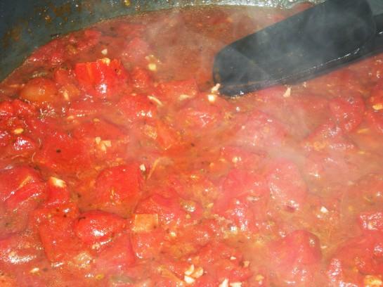 Simple Sauce reducing...