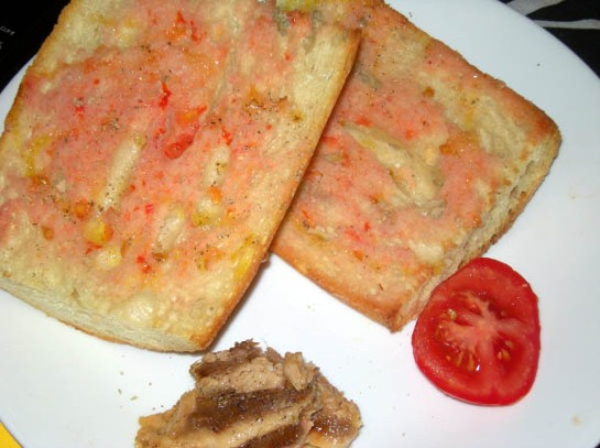 Catalonian Tomato Bread with Anchovies