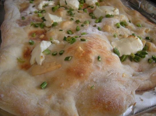 Pizza Bianca bump